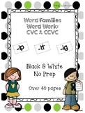 Word Families Word Work (CVC & CVCC): ip, it, ig