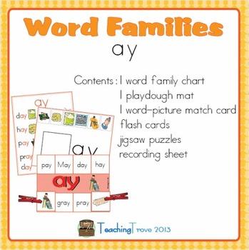 Word Families - ay