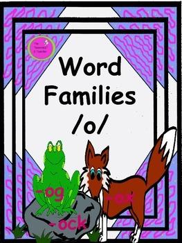 Word Families /o/