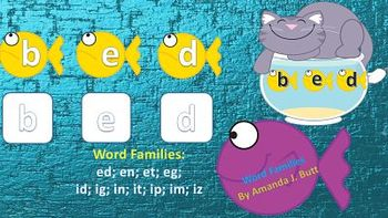 Word Families (short vowel e,i); First Grade; Special Need