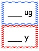 Word Families /-ug/ and /-y/...Building Words Center and W