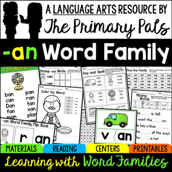 Word Families AN Family