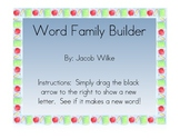 Word Family Activity NOTEBOOK