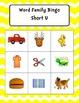 Word Family Bingo Short U