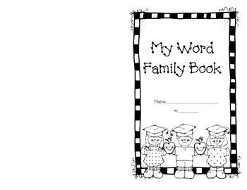 Word Family Book - Handwriting Without Tears