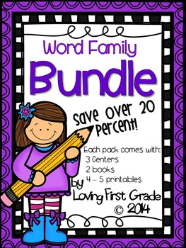 Short A (Plus More!) Word Family Bundle