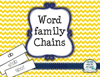 Word Family Chains