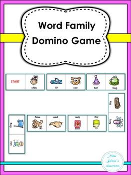 Word Family Domino