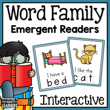 Word Family Emergent Reader Book Set