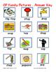 Word Family File Folder Game - OP Family