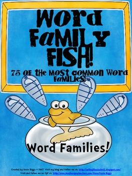 Word Family Fish!