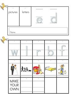 Word Family Flip Book Set: Short E
