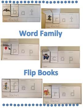 Word Family Flip Book Set: Short u