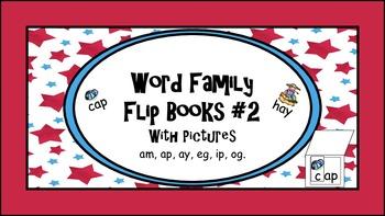 Word Family Flip Books  #2