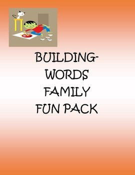 Word Family Fun Pack