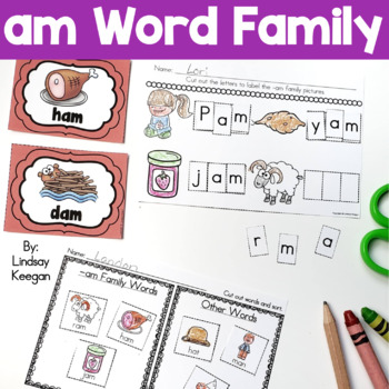 Word Family Fun! -am Family