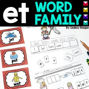 Word Family Fun! -et Family