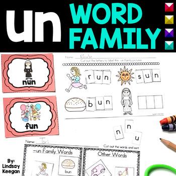Word Family Fun! -un Family