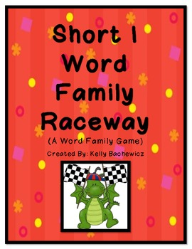 Word Family Game (Short I Raceway)