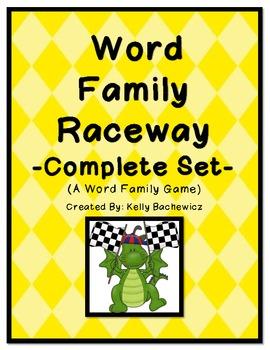 Word Family Game (Short Vowel Complete Set)