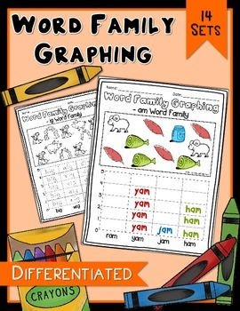 Word Family Graphing - Differenetiated