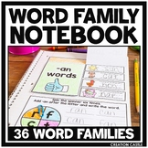 Word Family Interactive Notebooks