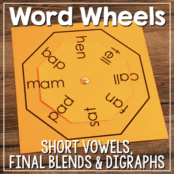 Word Family Wheel & Making Words Wheels {Short Vowels, Ble