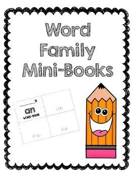 Word Family Mini-Books