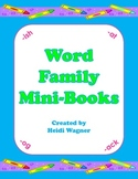Word Family Mini-Books Packet