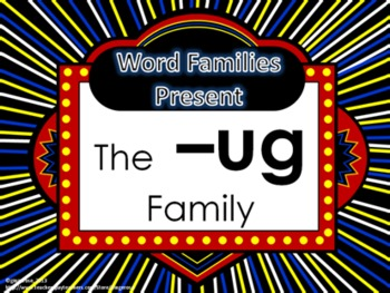 Word Family Packet (The -ug Family)