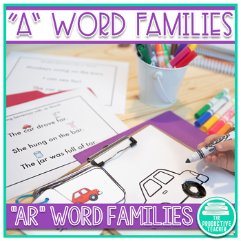 Word Family Practice -ar Words