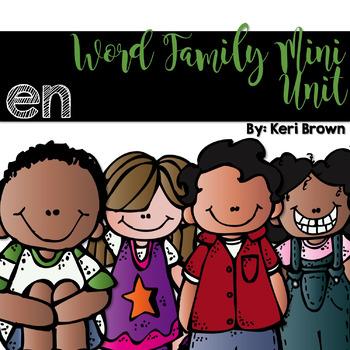 Word Family Series {-en}