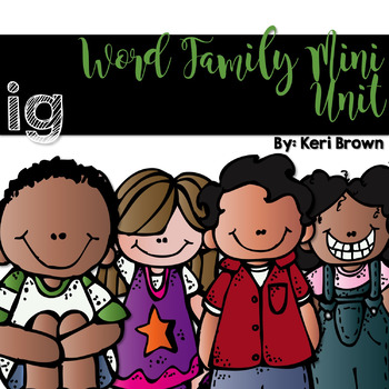 Word Family Series {-ig}
