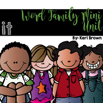Word Family Series {-it}