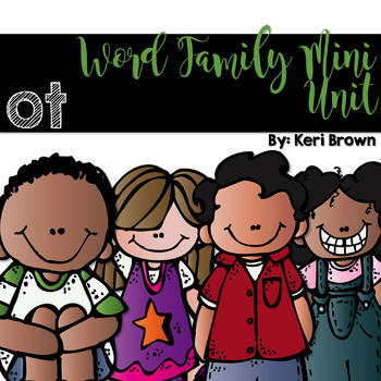 Word Family Series {-ot}