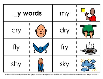 Word Family Sorts - Alternate Vowels (Set 4)