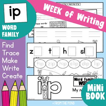 Word Family Week - ip - A Week of  Activities