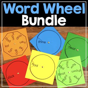 Word Family Wheel & Making Words Wheel {Bundle}