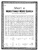 Word Family Word Search Pack