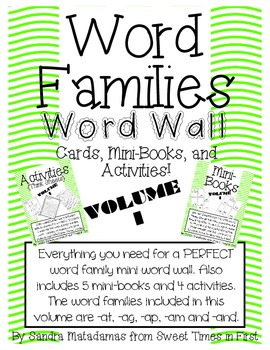 Short A Word Families