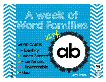 Word Family - ab family
