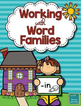 Word Family activities- in