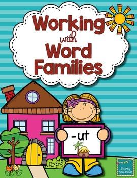 Word Family activities- ut