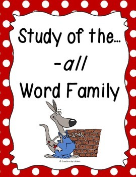 Word Family -all Study