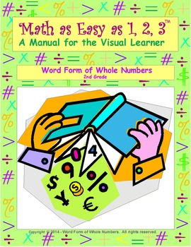 Word Form of Whole Numbers 2nd Grade