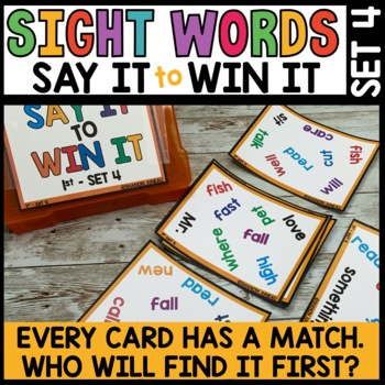Spot that Word (Word Game #4)