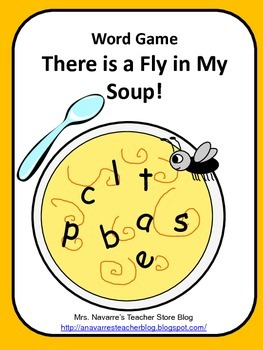 Word Game - There is a Fly in My Soup!