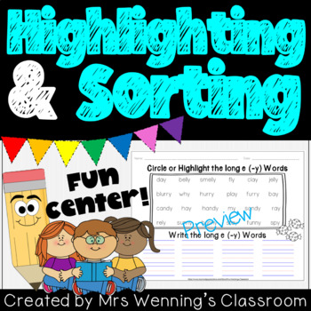 Word Highlighting and Sorting Templates!
