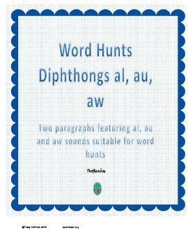 Word Hunt AL, AU, AW