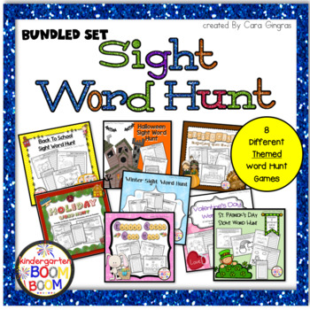 Word Hunt Bundle Set